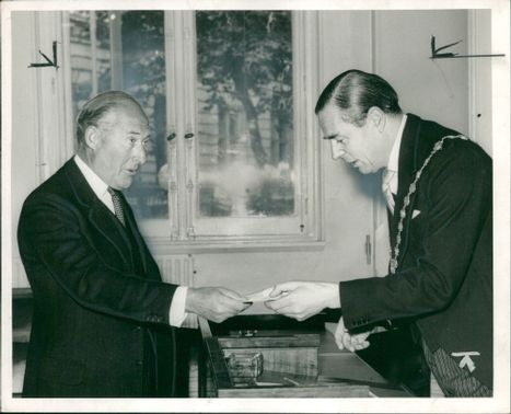 Sir harry hylton foster and brian fitzgerald moore.
