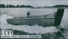 The LCVP (Landing Craft Vehicle Personnel) 1944