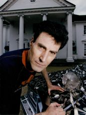 Magician Uri Geller in 'Secrets of the Paranormal'
