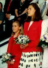 Princess Madeleine and Crown Princess Victoria
