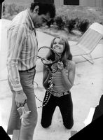 Roger Vadim with woman.
