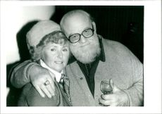 Burl Ives with Dorothy Ives.