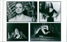 Different scenes from the film Ed Wood, 1994 directed and produced by Tim Burton.