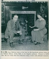 Stanley Baldwin with his wife Lucy Baldwin.