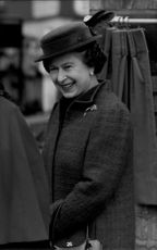Portrait image of Queen Elizabeth II taken in an unknown official context.