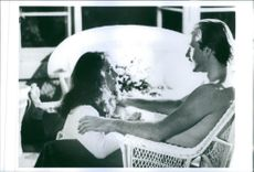"A scene from the film ""Body Heat"" casting by Kathleen Turner and William Hurt."