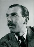 Portrait of Frank Muir.