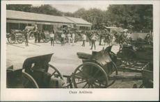Reminder of the mobilization in 1914.