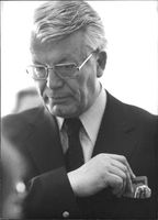 Portrait of Henri Nannen. 1975.