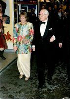 James Callaghan with wife Lady Audrey Callaghan.