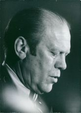 Portrait of Gerald Ford.