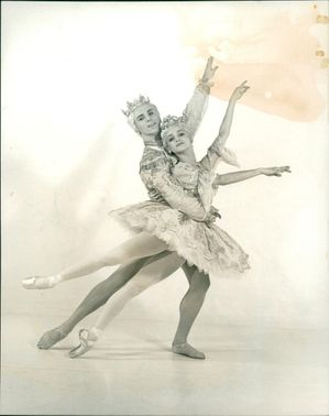 Nutcracker Suite: Maria Almida and Antony Dowson of the Royal Ballet