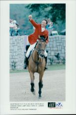 Ludger Beerbaum from Germany took home the Olympic Gold in jumping.
