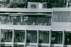 A building with a number of rooms, 1970.