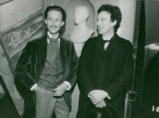 Christer Lindarw and Thommy Berggren in Strindbergs series