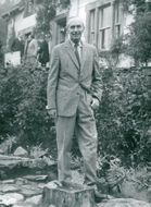 Britain's Prime Minister Sir Alec Douglas-Home in Scotland
