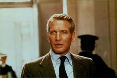 """Actor Paul Newman in the movie """"Trap"""""""