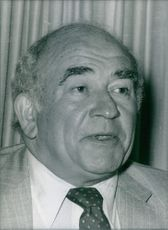 U.S. actor, Ed Asner, 1984.
