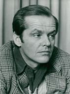 """Actor Jack Nicholson during a press conference before the Swedish premiere of the movie """"Gökboet"""""""