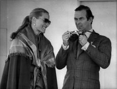 Prince and Princess Michael of Kent at the Windsor Royal Cup polo match