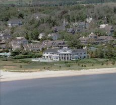 Kennedy's family home in Hyannisport