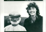 26-year-old adventurer Jane Horney, along with a ortsbo while visiting Härjedalen.