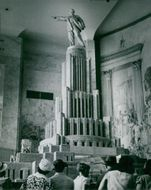 Soviet palace in Moscow in 1945.