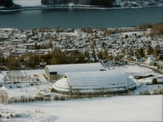 Hockey arena during the Winter Olympics in Lillehammer -94.