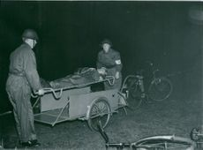 Swedish Military Civil Defense exercise 1943-1949