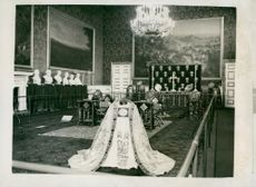 Queen Elizabeth II's Crown Procession 1953. England's Crown Souvenirs.