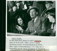 Maurice Chevalier visits Sweden