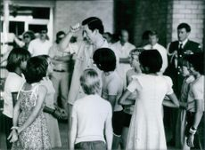 Royal Tour in Australia: Prince Charles in Tennant Creek 1983