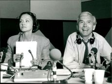 Anna Ford with co-presenter John Humphrys