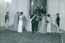 Prince Michael of Greece and Denmark on his wedding day.