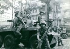Soldiers in Saigon