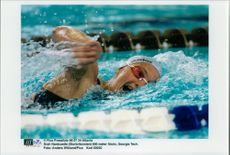 OS in Atlanta 1996. Sarah Hardcastle from United Kingdom 800 meters freestyle