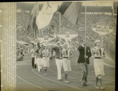 OS in Moscow. From the ending ceremony in Lenin Stadium