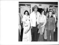 James Garner with family at an event in Hollywood