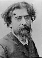Portrait of the author Alphonse Daudet