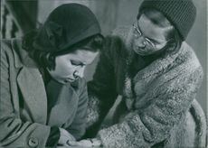 """Ingrid Thulin is shown watching over Gunnel Lindblom in one of the many scenes in Winter Light (Swedish: Nattvardsgästerna, literally """"The Communicants"""")."""