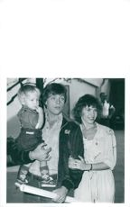 Mark Hamill along with his wife Marilou and son Nathan