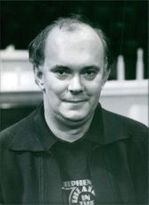 The Distinguished playwright and producer Alan Ayckbourn. 1981.