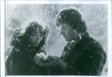 A scene from the film Starman.