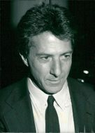 Portrait image of Dustin Hoffman taken in an unknown context.