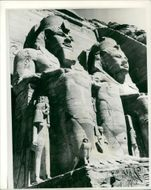 Nubian valley Egypt: The temple of abusimbel.