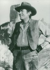 Gregory Peck in So Won the Wild West