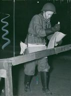 Air protection exercises 1941-1942
