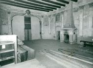 Interior of Ulriksdal Castle Theater