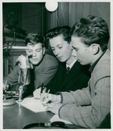Southern Latins team in the Radion questionnaire as of Mats Arvidsson, Lars Höglund and Patrik Engellau
