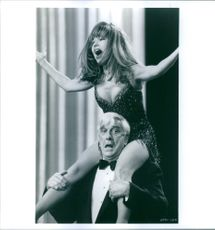 Still of Leslie Nielsen and Pia Zadora in Naked Gun 33⅓: The Final Insult.